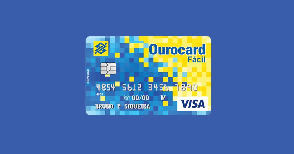 Ourocard Fácil – Um cartão sem anuidade