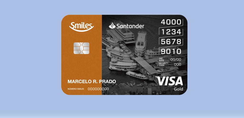 Cartão Smiles Santander Gold – Peça o seu!