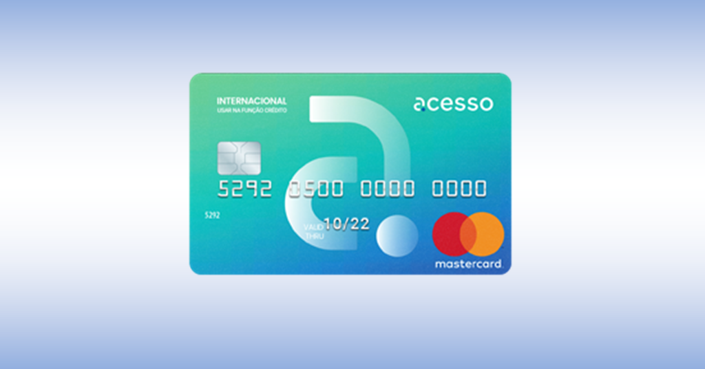 Acessocard – cartão sem consulta SPC e Serasa