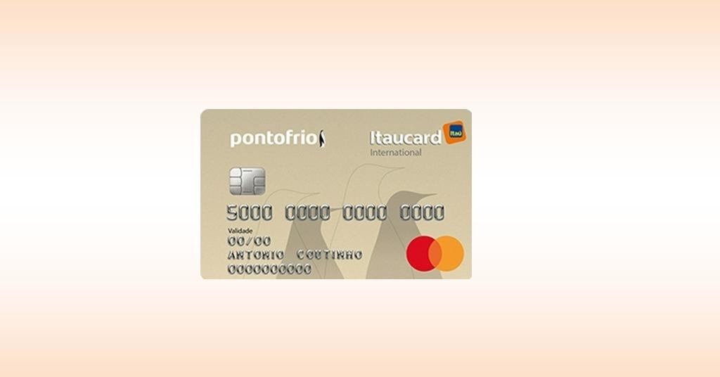 PontoFrio Itaucard Internacional – confira aqui!