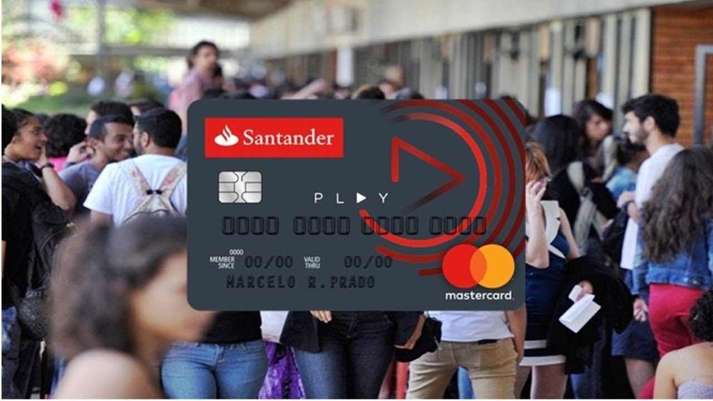 Cartão Santander Play Mastercard. Fazer e solicitar