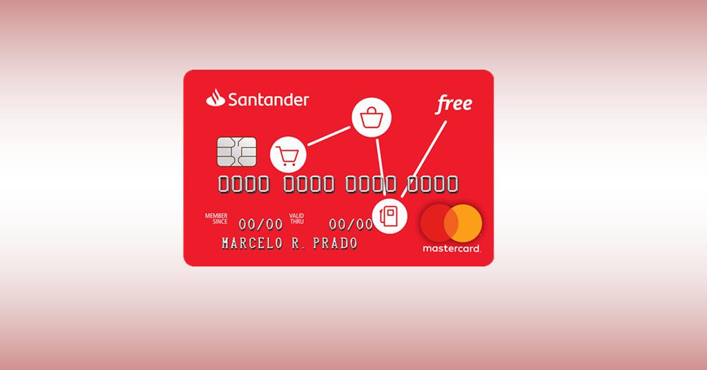 Santander Free – Um cartão ZERO anuidade