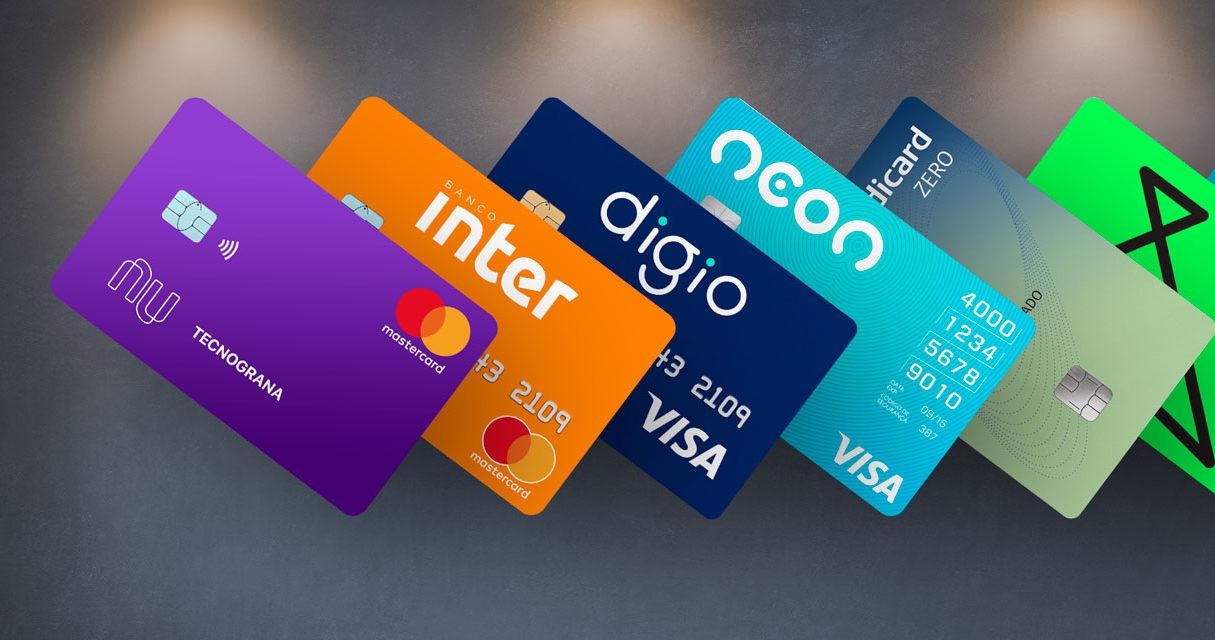 10 cartões de crédito sem anuidade – Escolha já o seu