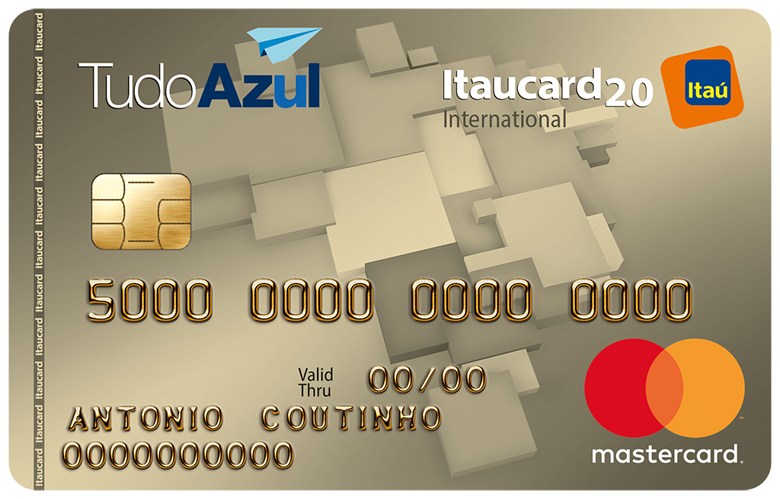 Cartão TudoAzul Itaucard 2.0 Internacional