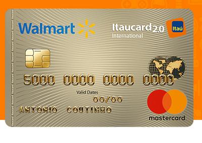 Cartão Walmart Itaucard 2.0 – economize até R$200 nas compras do mês