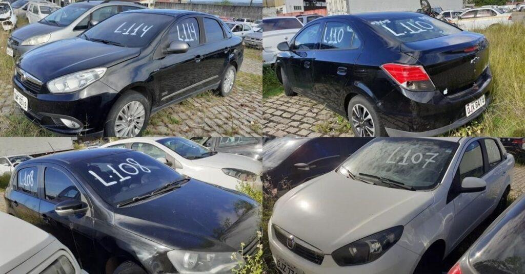 Leilão do Detran tem veículos com lances a partir de R$100